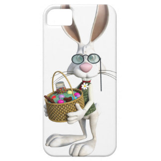 Easter Rabbit with Easter Basket iPhone SE/5/5s Case