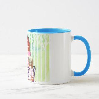 Easter Rabbits Brunch with Little Girl Mug