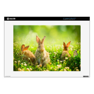 Easter Rabbits Decals For Laptops