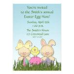 Easter Rabbits Invitation