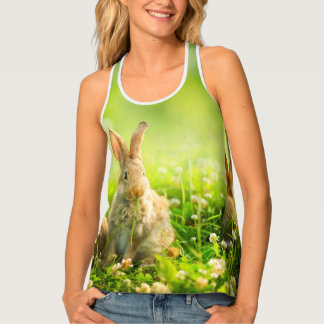 Easter Rabbits Tank Top