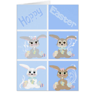 Easter Rabits Card