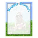 Easter Raccoon Bandit Flyer Design
