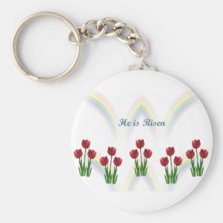 Easter Rainbow Keychain