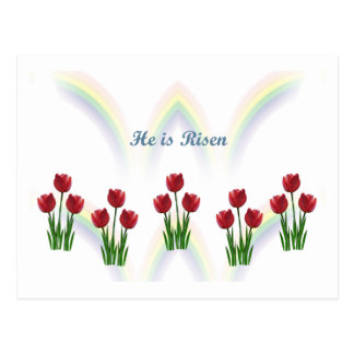 Easter Rainbow Postcard