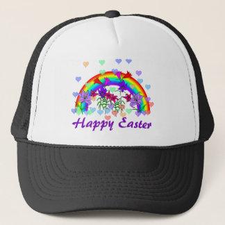 Easter Rainbow Trucker Hat