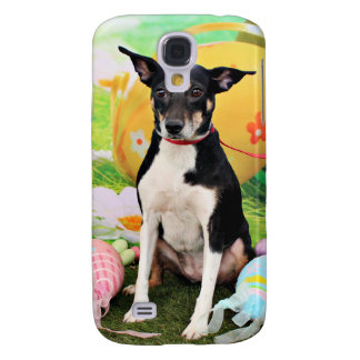 Easter - Rat Terrier - Georgia Galaxy S4 Covers