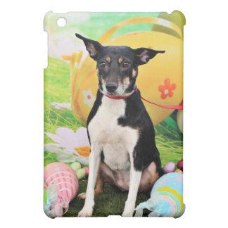 Easter - Rat Terrier - Georgia Case For The iPad Mini