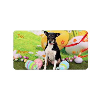 Easter - Rat Terrier - Georgia Label