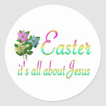 Easter Reason Classic Round Sticker