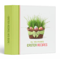 Easter Recipes Ideas binder