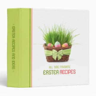 Easter Recipes Ideas binder