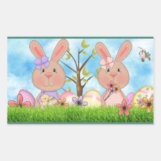 Easter Rectangular Sticker