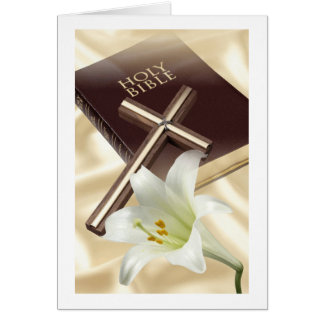 Easter Religious Greeting Card