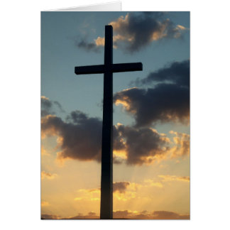 Easter Resurrection Christian Greeting Card Photo