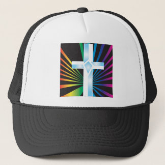 Easter Resurrection Cross Trucker Hat