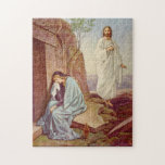 "Easter Resurrection Day Jigsaw Puzzle<br><div class=""desc"">Jesus Christ rose from his tomb and appeared to Mary Magdalene.</div>"