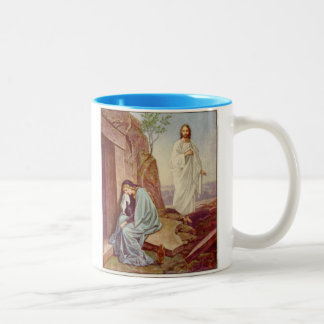 Easter Resurrection Day Two-Tone Coffee Mug