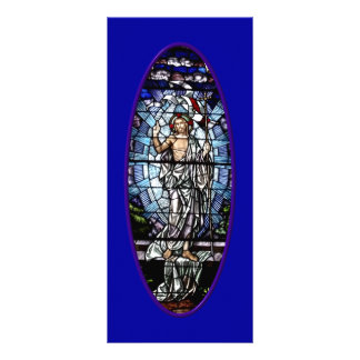 Easter: Resurrection of Christ stained glass Rack Card