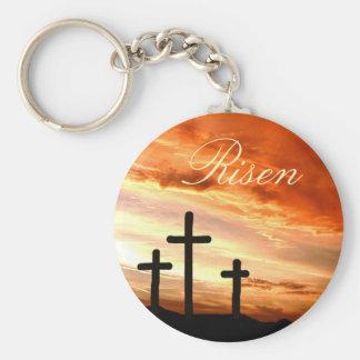 Easter risen key chain
