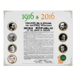 Easter Rising 1916 - 2016 Commemorative Poster