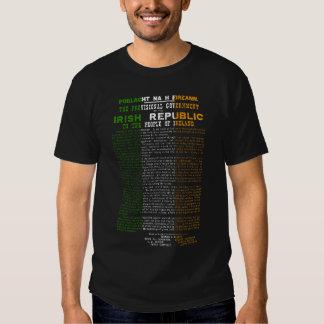 Easter Rising 1916 Irish Republic Proclaimation T-Shirt