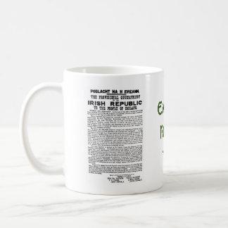 Easter Rising 1916 Irish Republican Proclaimation Coffee Mug
