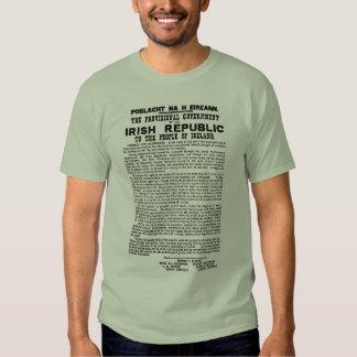 Easter Rising Proclamation of the Irish Republic Shirt