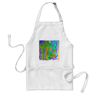 Easter Rose Floral and Colorful Design Products Adult Apron