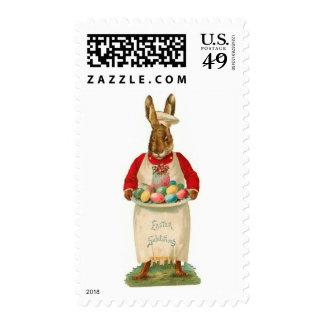 Easter Salutations Postage Stamp