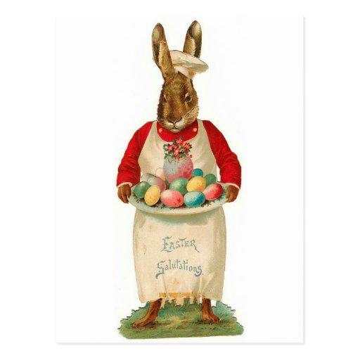 Easter Salutations Postcards