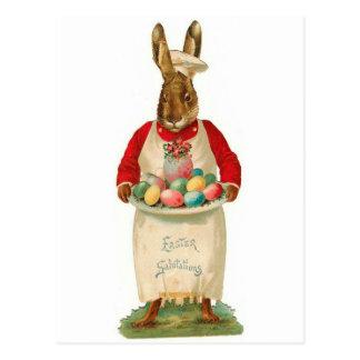 Easter Salutations Vintage Postcard