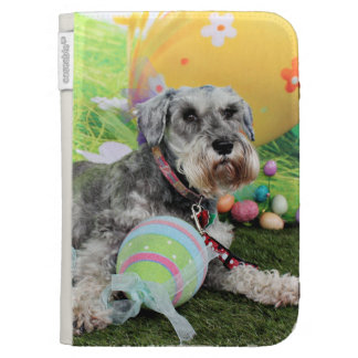 Easter - Schnauzer - Fergie Kindle Covers