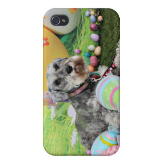 Easter - Schnauzer - Fergie Cover For iPhone 4