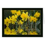 Easter - Secret Pal - Daffodils Greeting Card