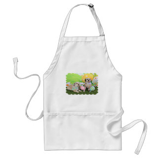 Easter - Shih Tzu - Clementine and Winston Apron
