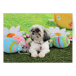 Easter - Shih Tzu - Sophie Greeting Card
