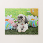 Easter - Shih Tzu - Sophie Jigsaw Puzzles