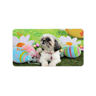 Easter - Shih Tzu - Sophie Label