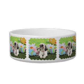 Easter - Shih Tzu - Sophie Cat Bowl