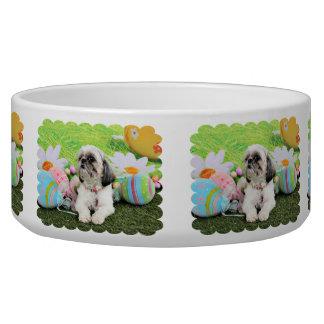 Easter - Shih Tzu - Sophie Dog Water Bowls