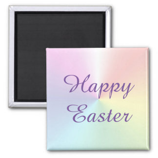 Easter Shimmer Square Magnet by Janz