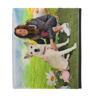 Easter - Siberian Husky - Contessa iPad Cases