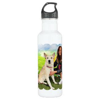 Easter - Siberian Husky - Contessa 24oz Water Bottle