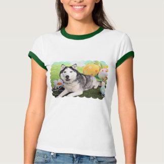 Easter - Siberian Husky - Luka T-Shirt