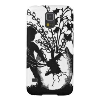 Easter sillouette case for galaxy s5