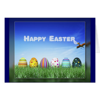 Easter Skywriting Card