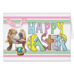 Easter Smiling Bulldog Stationery Note Card