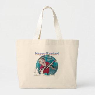 Easter 'Snow Bunnies' Photo Frame Bags