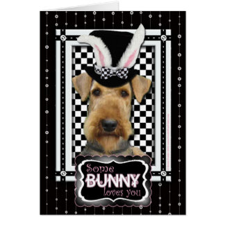 Easter - Some Bunny Loves You - Airedale Card